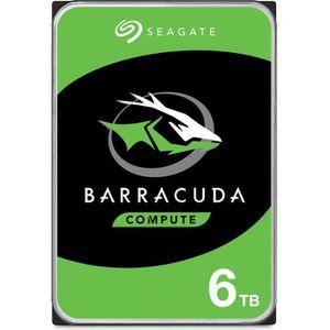 DISQUE DUR INTERNE SEAGATE - Disque dur Interne HDD - BarraCuda - 6To