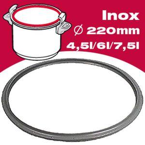 ACCESSOIRE AUTOCUISEUR SEB Joint autocuiseur inox 790362 4,5-6L Ø24cm gri