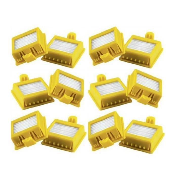 Pack de 12 HEPA Filtres IRobot Roomba Séries 700 760 770 772 774 775 776 780 782 785 786 790