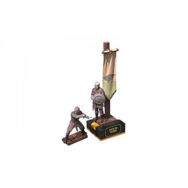 Figurine Game of Thrones - Building Set Stark Banner