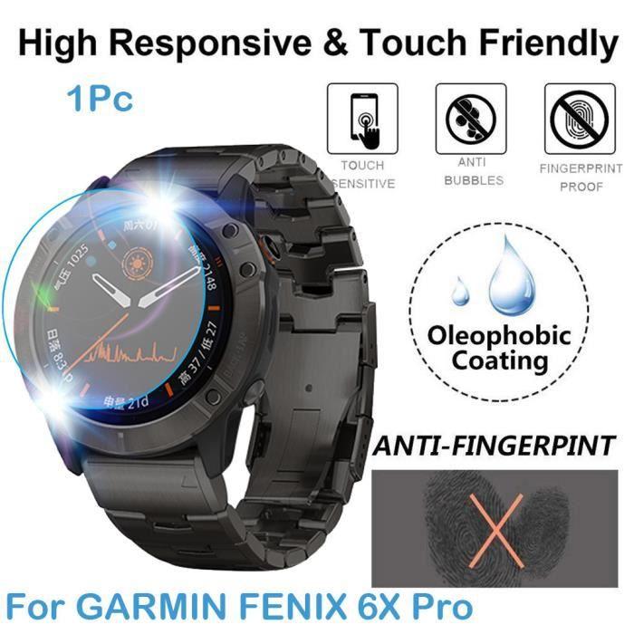 MONTRE OUTDOOR 1 pack de protection d'écran en verre trempé ultra clair pour GARMIN FENIX 6X Pro bg892 SDF892