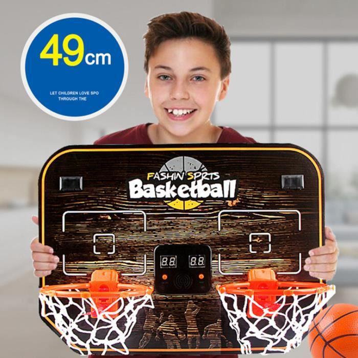 Jouets d'interaction parent-enfant à double panneau de basket-ball électronique, Machine de basket-ball Double panneau de