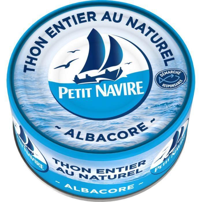 PAULET PAUL Thon nature responsable Petit Navire - 140 g