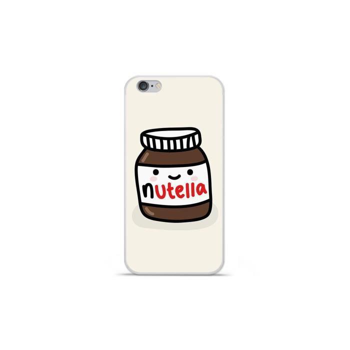 Coque Housse Apple iPhone 6 Plus / 6S Plus en silicone gel protection arrière- Pate à tartiner