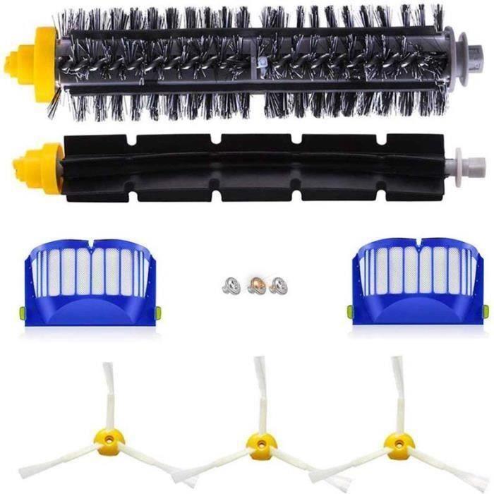 Kit Pièces accessoires Pour IRobot Aspirateur Roomba Série 600 605 615 616 620 621 630 635 650 652 660 665 671 680 690 695