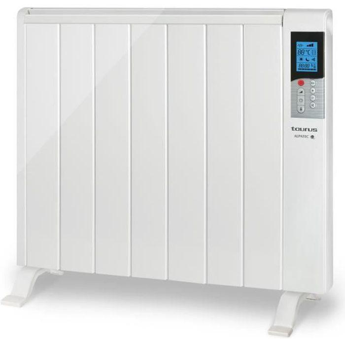 TAURUS Radiateur thermique à inertie sèche TANGER 1500 - 1500W