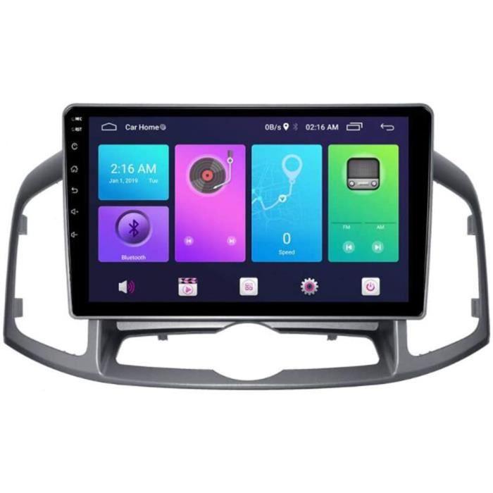 AUTORADIO Autoradio St&eacuter&eacuteo Androidd 9.0 Lecteur MP5 Navigateur pour Chevrolet Captiva 2012-2016, GPS 2.5D &Eacute96
