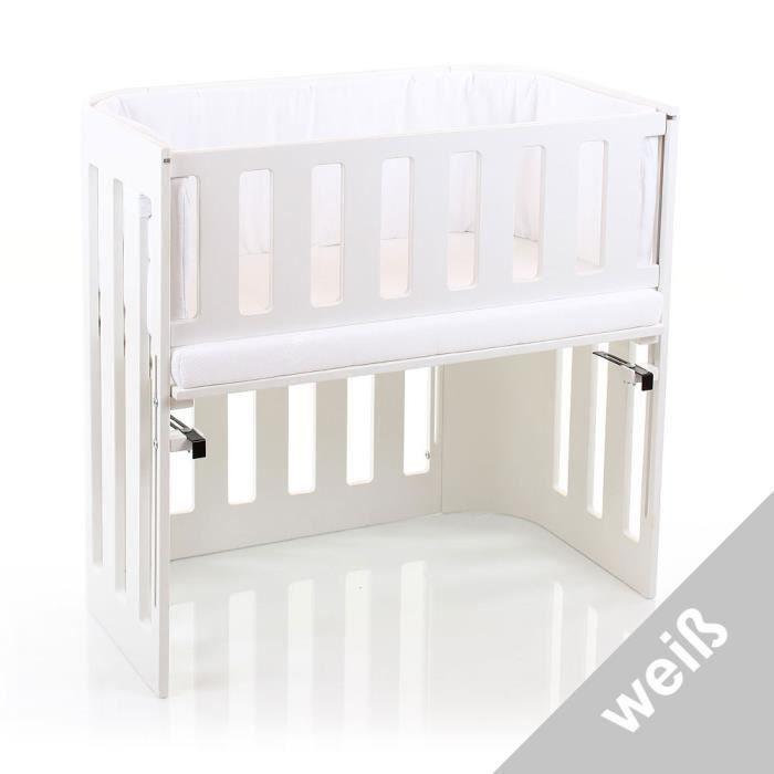 Barrière de sécurité Cododo Babybay Trend blanc verni Babybay