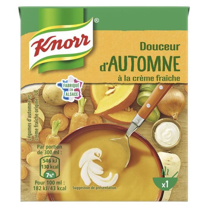 KNORR Soupe Douceur d'Automne à la Crème Fraîche - 30 cl