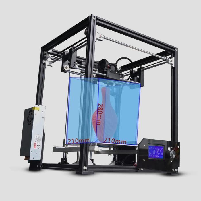 Tronxy X5 Kit imprimante 3D avec lecteur de carte Sd Usb 2.0 H Bot core Xy