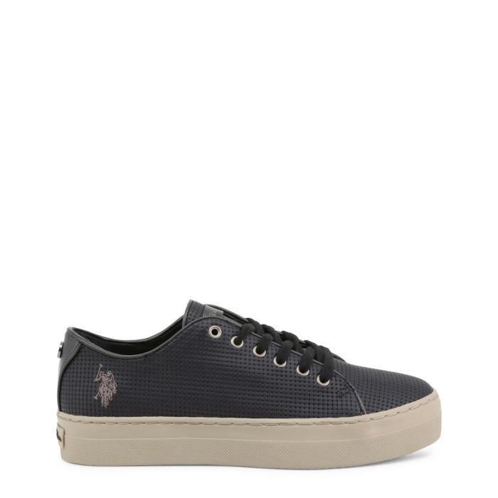 U.S. Polo - Sneakers pour femme (TRIXY4139W8_Y1_BLK) - Noir