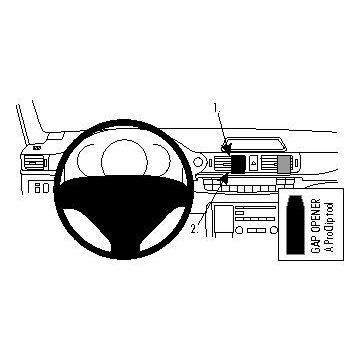 Fixation voiture Brodit Proclip Lexus CT Series