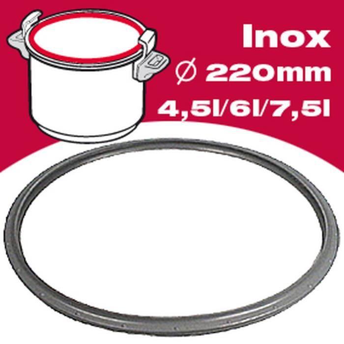 SEB Joint autocuiseur inox 790362 4,5-6L Ø24cm gris