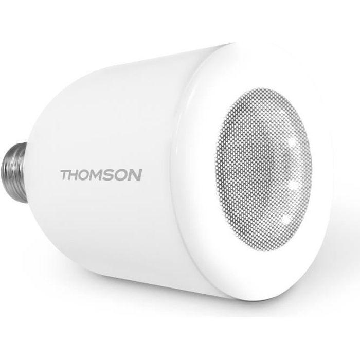 THOMSON Ampoule LED E27 5 W avec enceinte Bluetooth