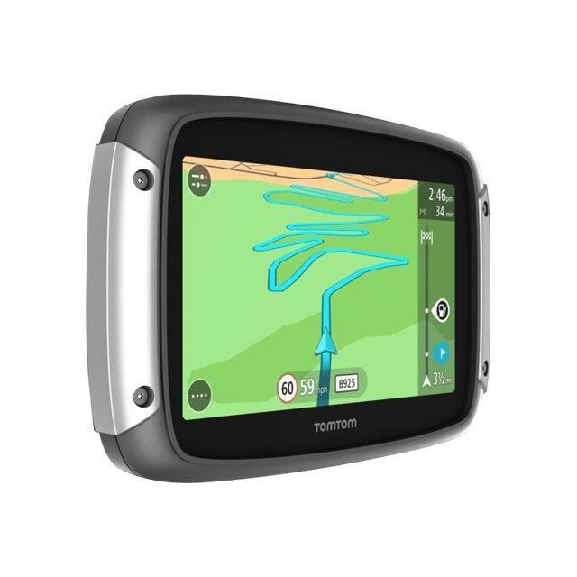 TOMTOM GPS Moto RIDER 400 Europe 48 Cartographie, Trafic et Zones de Danger à Vie