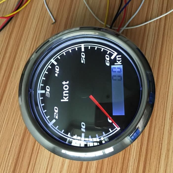 TRACEUR BATEAU - RADAR BATEAU - INDICATEUR DE MAREE Indicateur de vitesse 1 pièce