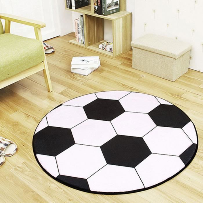 200cm anti-dérapant Football Tapis Rond CD1110