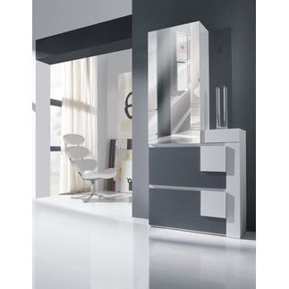vestiaire entree moderne. Black Bedroom Furniture Sets. Home Design Ideas