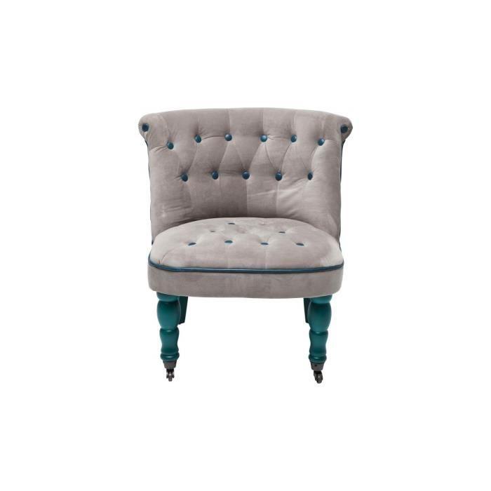Fauteuil Entree Bleu Kare Design - Achat / Vente fauteuil ...