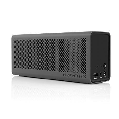 braven enceinte 805 portable sans fils gris enceintes bluetooth avis et prix pas cher. Black Bedroom Furniture Sets. Home Design Ideas