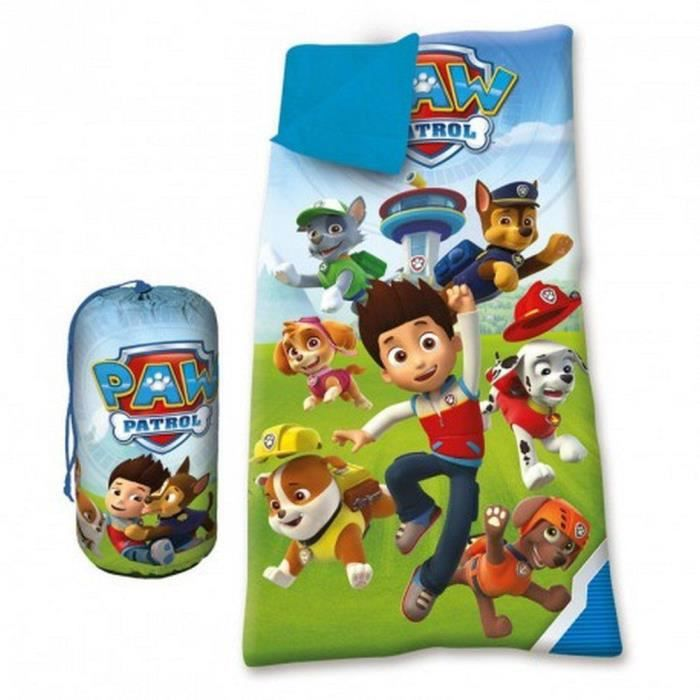 sac de couchage duvet enfant disney paw patrol bleu 140 x 70 cm prix pas cher cdiscount. Black Bedroom Furniture Sets. Home Design Ideas