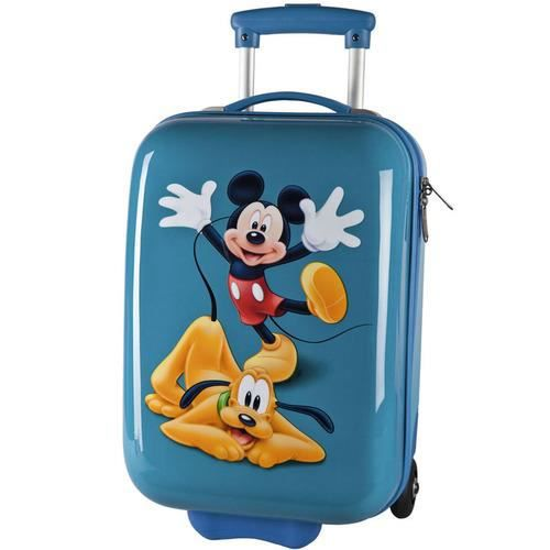 valise cabine enfant mickey pluto 48cm bleu bleu achat vente valise bagage. Black Bedroom Furniture Sets. Home Design Ideas