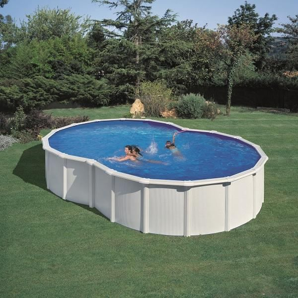 Kit piscine en huit blc varadero 7 10mx4 75mx1 20m achat for Piscine enterree en kit