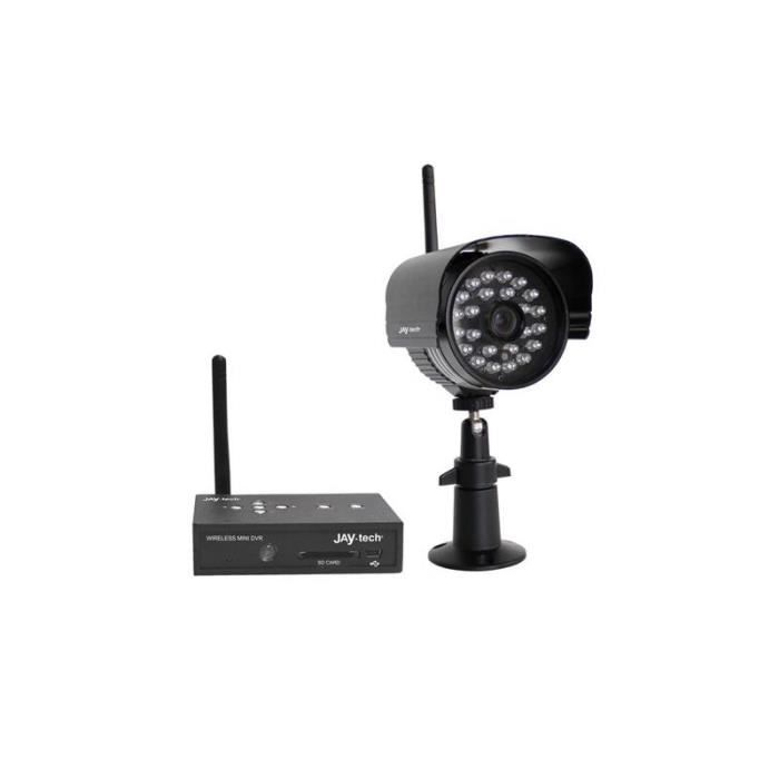 kit cam ra de surveillance jay tech pd 808s achat vente cam ra de surveillance kit cam ra. Black Bedroom Furniture Sets. Home Design Ideas