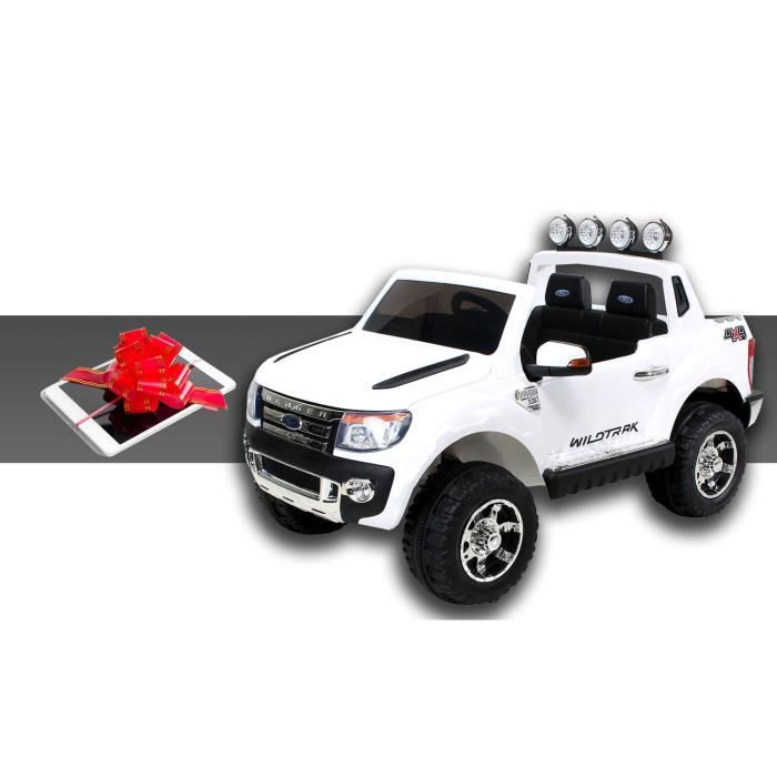 mini voiture lectrique pour enfants ford ranger 70 watt blanc tablette 7 pouces achat. Black Bedroom Furniture Sets. Home Design Ideas