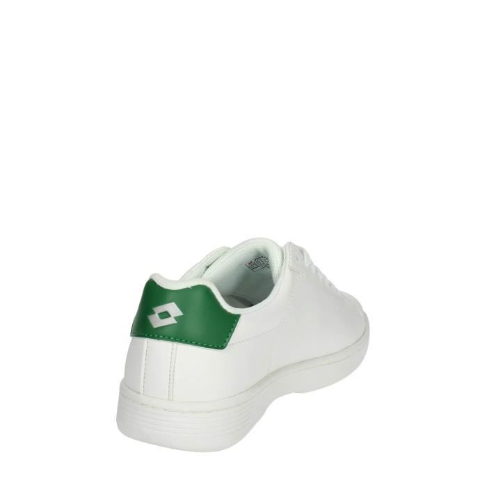 Lotto Petite Sneakers Homme Blanc/vert, 42