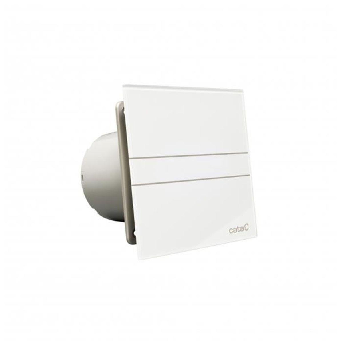 Aérateur extracteur salle de bain E-18 Glass Timer CATA
