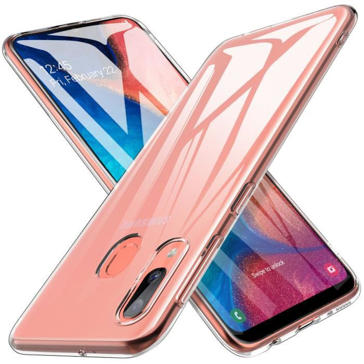 HOUSSE - ÉTUI KuGi Coque Samsung Galaxy A20E, High quality smoot