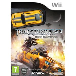 JEUX WII TRANSFORMERS: DARK OF THE MOON BUNDLE / Jeu Wii