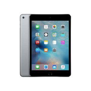 TABLETTE TACTILE iPad Apple - iPad Mini 4 Gris Sidéral - Wifi + Cel