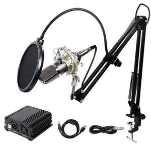 MICROPHONE - ACCESSOIRE Microphone à Condensateur XLR à 3,5 mm podcasting