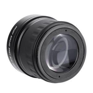 OBJECTIF LANQI Objectif Fisheye Grand Angle 58mm 0.21X pour