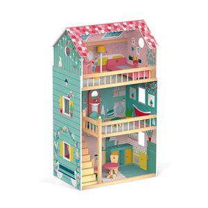 MAISON POUPÉE Janod- Jouets D'IMITATION Maison de poupées Happy