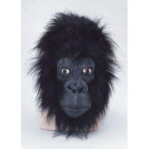 ACCESSOIRE DÉGUISEMENT Masque de gorille Deluxe taille adulte