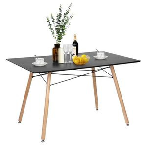 TABLE À MANGER SEULE Table Salle à Manger Style Scandinave Table de Cui