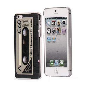 1 coque iphone 5s motif cassette rigide accessoire