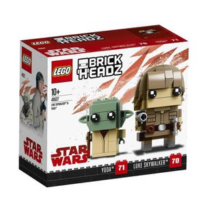 ASSEMBLAGE CONSTRUCTION LEGO® Brickheadz 41627 Luke Skywalker™ & Yoda™