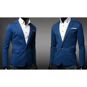 veste costume blazer homme classique bleu achat vente costume tailleur cdiscount. Black Bedroom Furniture Sets. Home Design Ideas