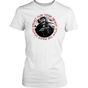 T-SHIRT Femmes t-shirt DTG Print - Police State Fight For