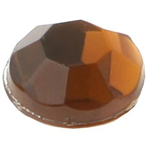 SEQUIN - STRASS Strass diamant autocollant: Chocolat (x160) REF/38