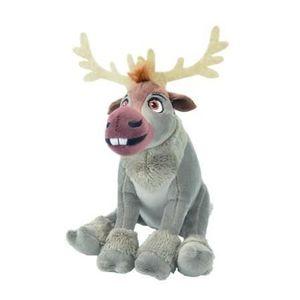 30 cm Animal en Tissu Disney la Reine des Neiges Été Olaf avec Fleurs Env