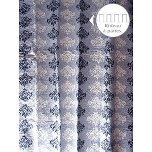 RIDEAU RIDEAU A PATTES BOUTIS 140x250cm BASILE 100% Coton