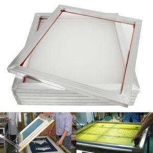 TRANSFERT - SERIGRAPHIE TEMPSA 6Pcs 50*60cm Cadre en Aluminium Pour Impres