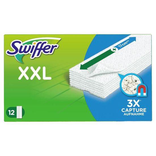 36x Swiffer Sèche Sol Essuie-Lingettes pour bois et parquet avec cire