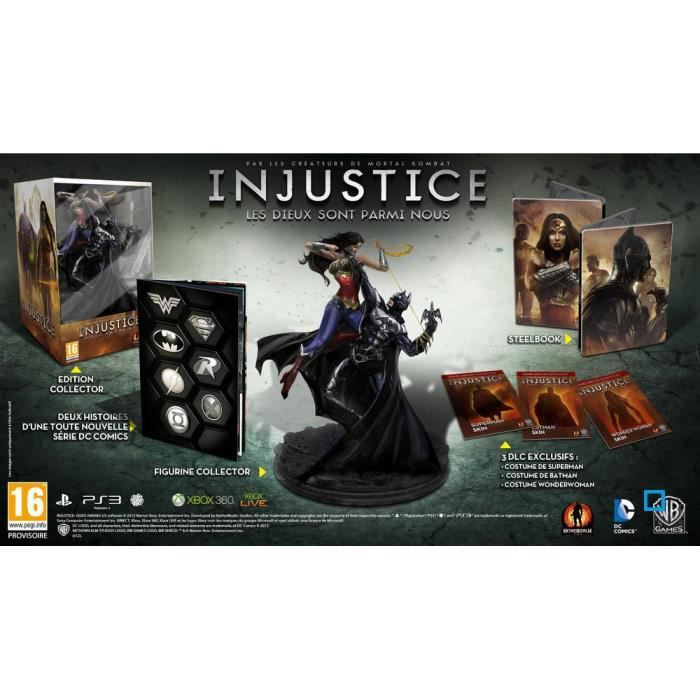 JEU PS3 INJUSTICE COLLECTOR / Jeu console PS3