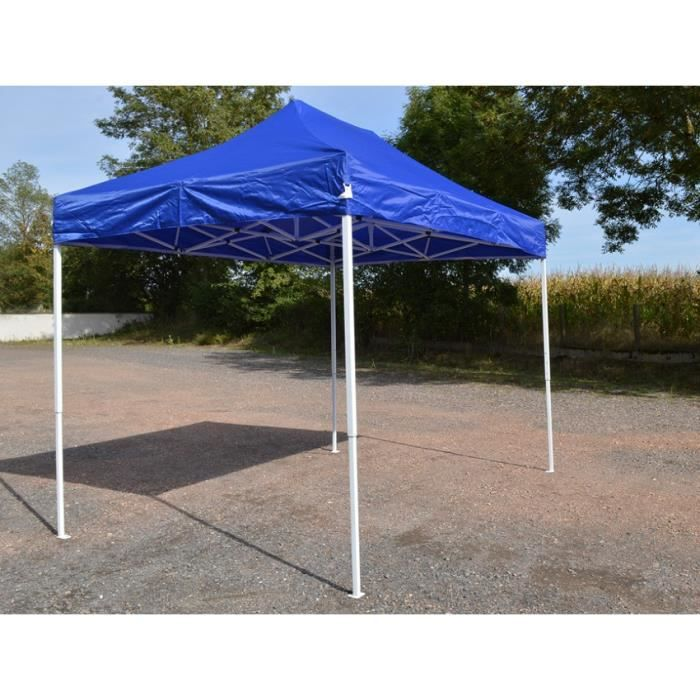 Barnum Pliant 2x3m Bleu - Tente Pliante Etanche